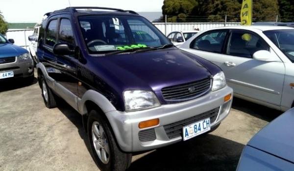 1998 Daihatsu Terios SX 4×4 Wagon