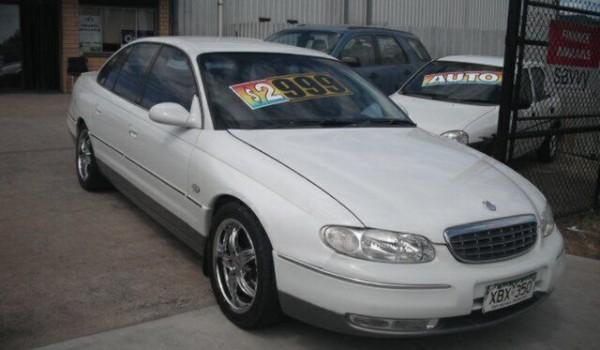 1999 Holden Statesman WH V6 White 4 Speed Automatic Sedan