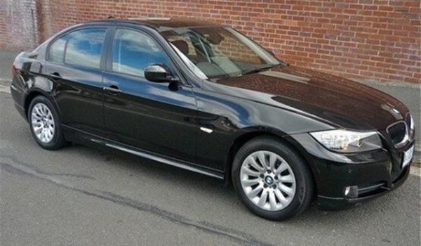2009 BMW 320i E90 MY10 Executive Steptronic Black 6 Speed Sports Automatic Sedan