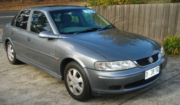 2002 Holden Vectra Equipe GL Sedan