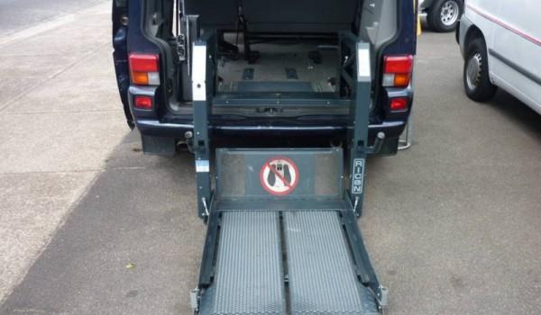 1997 Volkswagen Caravelle Wheelchair Wagon.
